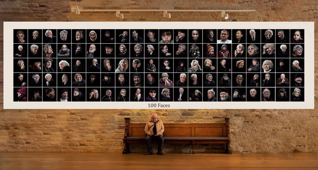 100 Faces - What we're aiming for 9