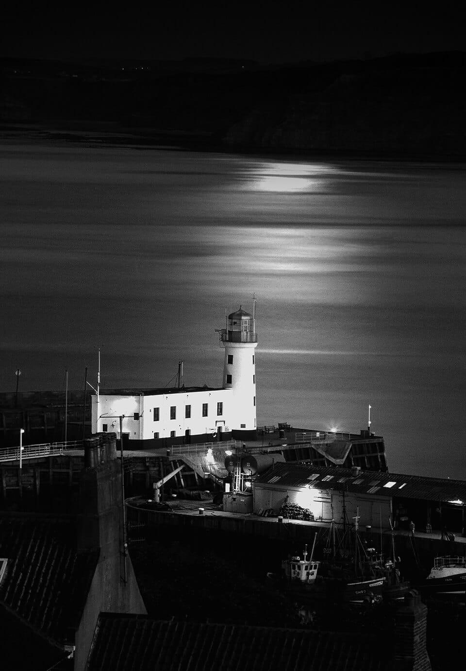 Black and white lanscape photographs - John Gill